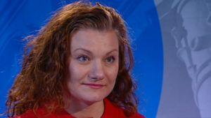 Christina Mickos, SFP, Lappträsk, kandidat i riksdagsvalet 2015.