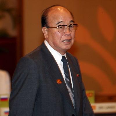 Nordkoreas utrikesminister Pak Ui-chun.