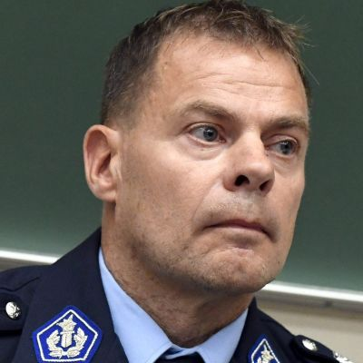 Robin Lardot, chef för Centralkriminalpolisen.