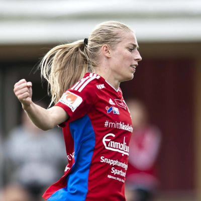 Linda Sällström löper.