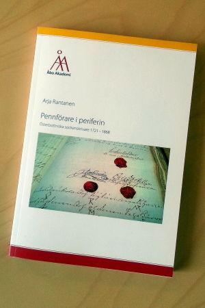 Arja Rantanens doktorsavhandling om sockenskrivare