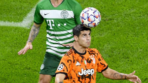 Alvaro Morata gjorde två mål för Juventus.