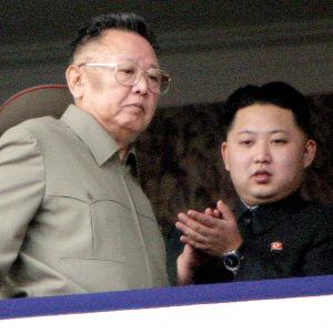 Kim Jong-Il ja Kim Jong-Un