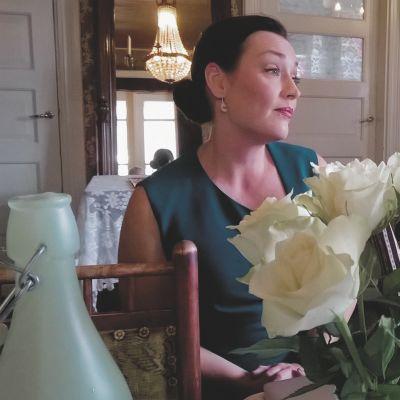 lemin musiikkijuhlien taiteellinen johtaja Niina keitel sekä toiminnanjohtaja Eija Räisänen.