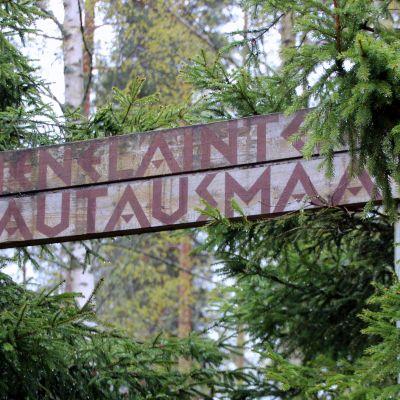 Pieneläinten hautausmaa Kontiolahden Lehmossa.