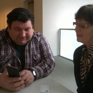 Alexander Shif och Alexandra Golosovski