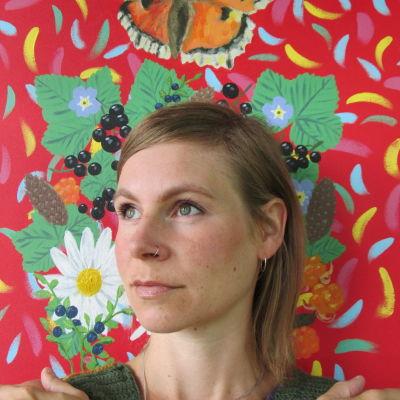Harpisti Laura Hynninen