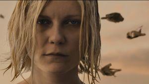 Kirsten Dunst Lars von Trierin elokuvassa Melankolia.