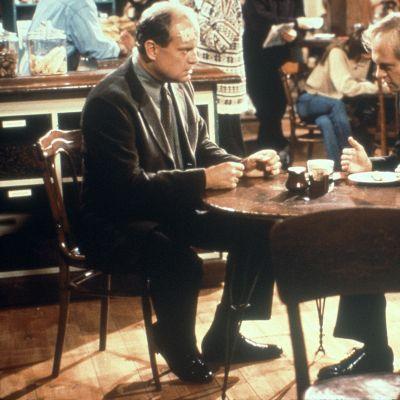 Frasier-ohjelman veljekset Frasier ja Niles Crane.