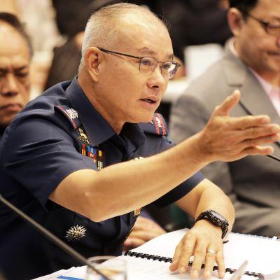 Filippiinien poliisijohtaja kenraali Oscar Albayalde.