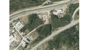 Området i Malmkulla som genomgår en detaljplaneändring.