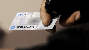 Ett kreditkort.