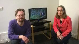 Martin Karlsson och Susanne Hedman har gjort en film för barn.