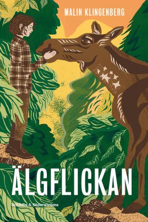 Omslaget till Malin Klingenbergs bok Älgflickan