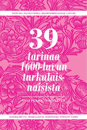 Ljusröd bok som handlar om 39 starka åbokvinnor