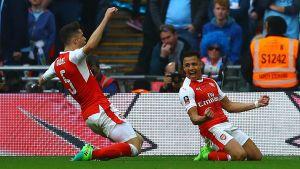 Alexis Sanchez firar mål