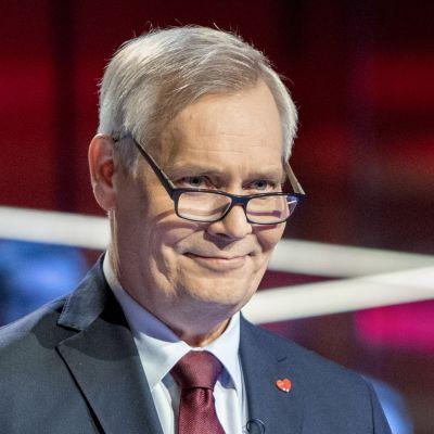 Antti Rinne puoluejohtajien vaalitentissä Yle 25.03.2019 Studio 2 eduskuntavaalit 2019