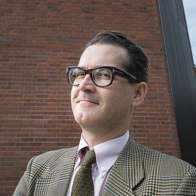 Evijärvis kommundirektör, Sabah Samaletdin. Fr.o.m. oktober 2015 kommundirektör i Mörskom.