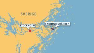 Svenska försvaret inledde fredagen den 17 oktober 2014 en operation i Kanholmsfjärden, efter rapporter om misstänkt verksamhet där.