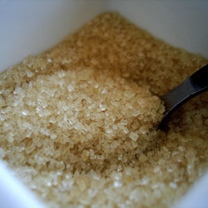 Brunt socker, rörsocker
