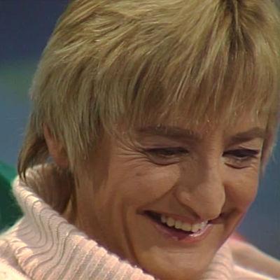 Anna-Kaisa Hermunen Suomen Televisio -ohjelman haastattelussa 1993.