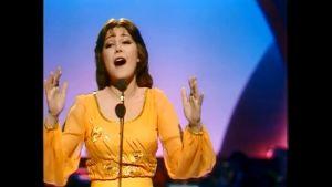 Franska Marie Myriam vann Eurovisionen år 1977.