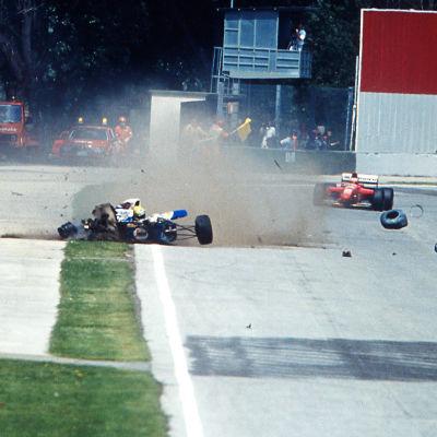 Ayrton Senna förolyckades i Imola 1994.