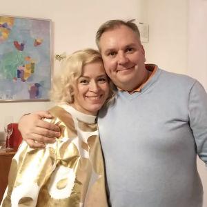 Tuula och Christer Schoultz