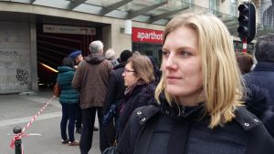 Joyce intervjuas i Bryssel