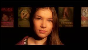 Julia Hellén som spelar Mio på Raseborgs sommarteater