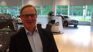 Thomas Hallbäck är informationschef på Volvo.