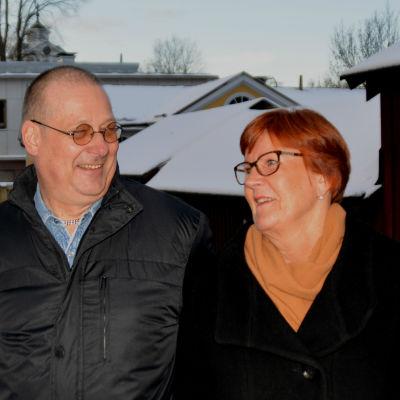 Egon Blomqvist och Kerstin Ståhlberg