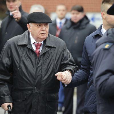 Mihail Gorbatšov vuonna 2017.