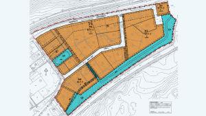 Planläggningsnämnden i Raseborgs plan för området i Malmkulla.
