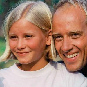 Ebba Hultqvist Stragne på 1990-talet och nu.