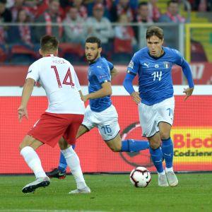 21-årige Federico Chiesa har gjort 11 landskamper för Italien.