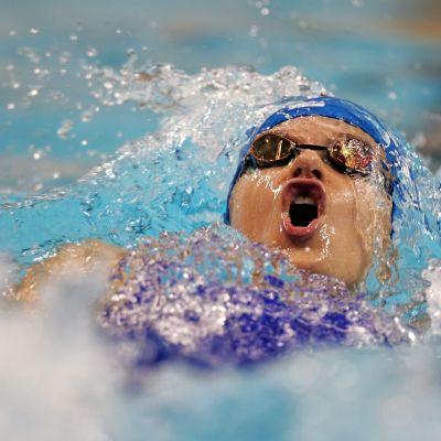 Hanna-Maria Seppälä, simning
