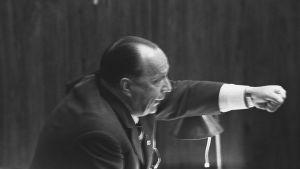Veikko Vennamo i riksdagen