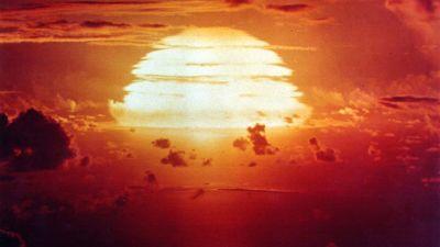 Atombombsexplosion.