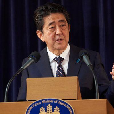 Japanin pääministeri Shinzo Abe