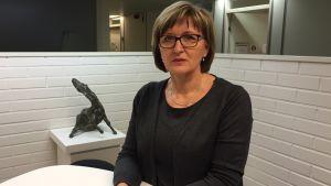 Lena Karlssån, chef för småbarnspedagogik i Vanda.