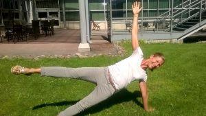 Anna Markelin är personlig tränare och Crossnature-instruktör.