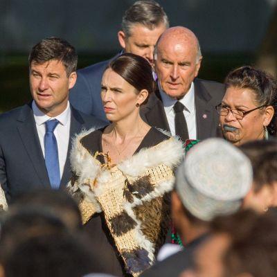 Pääministeri Jacinda Ardern.