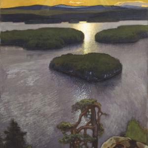 Eero Järnefelt: Symbolistiskt landskap från Koli