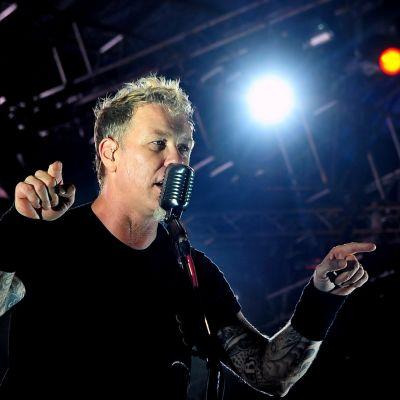 James Hetfield i Metallica.