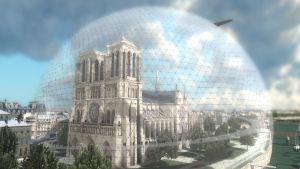 Futuristinen Notre Dame