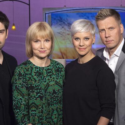 Paniikkioireistaan kertovat tv-toimittaja Reetta Rönkä ja huippukokki Henri Alén. Mukana erikoispsykologi Jan-Henry Stenberg.