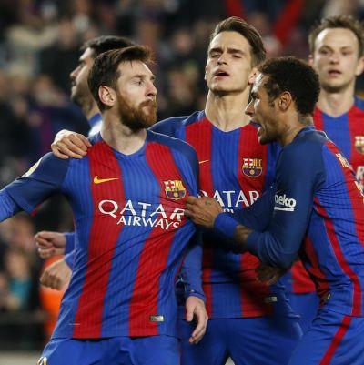 Leo Messi avgjorde matchen mot Leganes.
