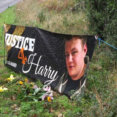 19-vuotias Harry Dunn kuoli kolarissa elokuussa Northamptonshiressä.