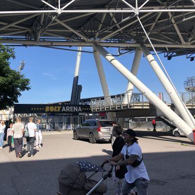 Bolt Arena Helsingin Töölössä